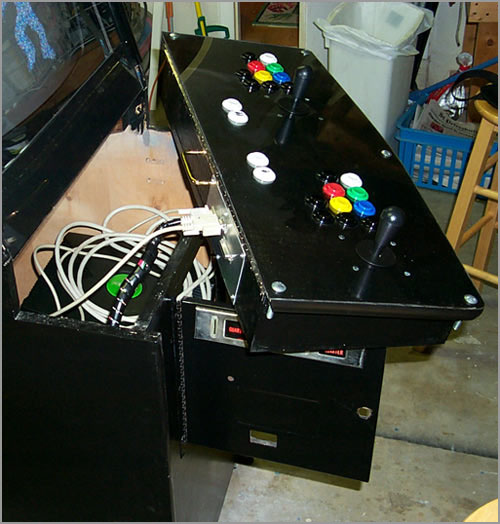 Christopher Evans: Xbox/DC/PS1/PS2/JAMMA Cabinet