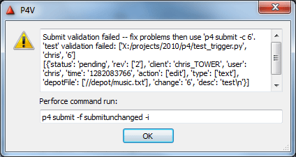 Stumbling Toward 'Awesomeness'Perforce Triggers in Python (Pt 1
